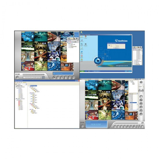 55-CTRLC-000 Geovision Control Center Software for Multiple Remote Geovision System Control