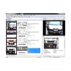 55-LPRPT-001 Geovision License Plate Recognition Solution For Single Lane - Software and USB Dongle for 1 Lane
