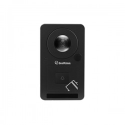 84-CS13200-0010 Geovision GV-CS1320 Access Controller w/ 13.56MHz Built-in Reader and 1.7mm 15FPS @ 2MP Outdoor IR Day/Night WDR IP Security Camera 12VDC PoE+