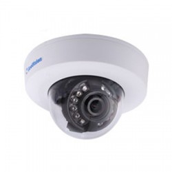 GV-EFD4700-0F Geovision 2.8mm 25FPS @ 2560 x 1440 Indoor IR Day/Night WDR Dome IP Security Camera 12VDC/PoE