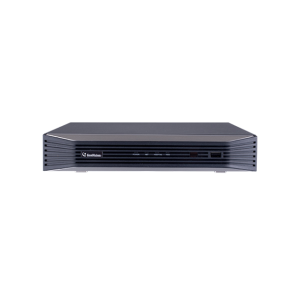 84-SNR0812-001U Geovision GV-SNVR0812 8 Channel at 4K (2160p) NVR 48Mbps Max Throughput w/ Built-in 8 Port PoE - No HDD