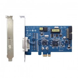 GV-600B-4-X Geovision 4 Channel 30FPS PCI-Express B DVR Card DVI-Type - 55-G60EX-040