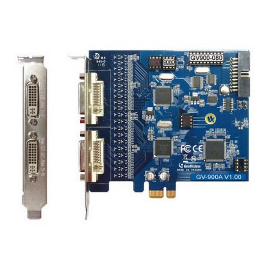 GV-900-32-X Geovision 32 Channel 240FPS PCI-Express B DVR Card DVI-Type - 55-G900A-320