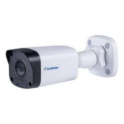 GV-ABL4703-0F Geovision 4mm 20FPS @ 4MP Outdoor IR Day/Night WDR Bullet IP Security Camera 12VDC/POE