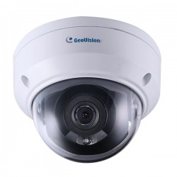 GV-ADR2702 Geovision 2.8mm 30FPS @ 1080p Outdoor IR Day/Night WDR Dome IP Security Camera 12VDC/POE