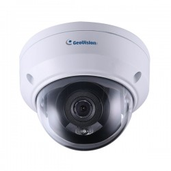 GV-ADR4702 Geovision 2.8mm 20FPS @ 4MP Outdoor IR Day/Night WDR Dome IP Security Camera 12VDC/POE