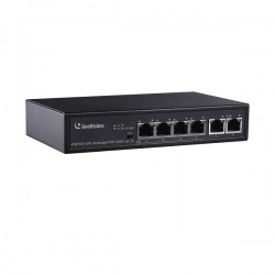 GV-APOE0400 Geovision 6-Port 10/100Mbps Unmanaged PoE Switch with 4-Port PoE