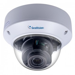 GV-AVD2700 Geovision 2.8~12mm Varifocal 30FPS @ 1080p Outdoor IR Day/Night WDR Vandal Dome IP Security Camera 12VDC/POE