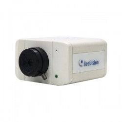 GV-BX2700-8F Geovision 2.8mm 30FPS @ 1920 x 1080 Indoor Day/Night WDR Box IP Security Camera 12VDC/PoE