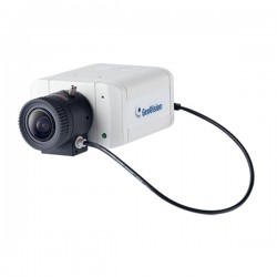 GV-BX4700-FD Geovision 3~10.5mm Varifocal 20FPS @ 4MP Indoor Day/Night WDR Box IP Security Camera 12VDC/PoE