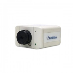 GV-BX5300-8F Geovision 2.8mm 10FPS @ 2560 x 1920 Indoor Day/Night WDR Box IP Security Camera 12VDC/PoE