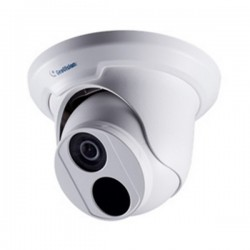 GV-EBD4700 Geovision 2.8 20FPS @ 2592 x 1520 Outdoor IR Day/Night WDR Eyeball IP Security Camera 12VDC/POE