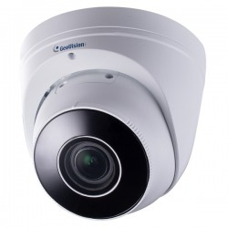 GV-EBD8711 Geovision 2.8~12mm Motorized 30FPS @ 8MP Outdoor IR Day/Night WDR Eyeball Dome IP Security Camera 12VDC/POE