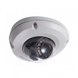 GV-EDR2700-0F Geovision 2.8mm 30FPS @ 1920 x 1080 Outdoor IR Day/Night WDR Vandal Dome IP Security Camera 12VDC/PoE