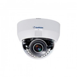 GV-EFD3101 Geovision 3~9mm Varifocal 30 FPS @ 2048 x 1536 Indoor IR Day/Night WDR Dome IP Security Camera 12VDC/PoE