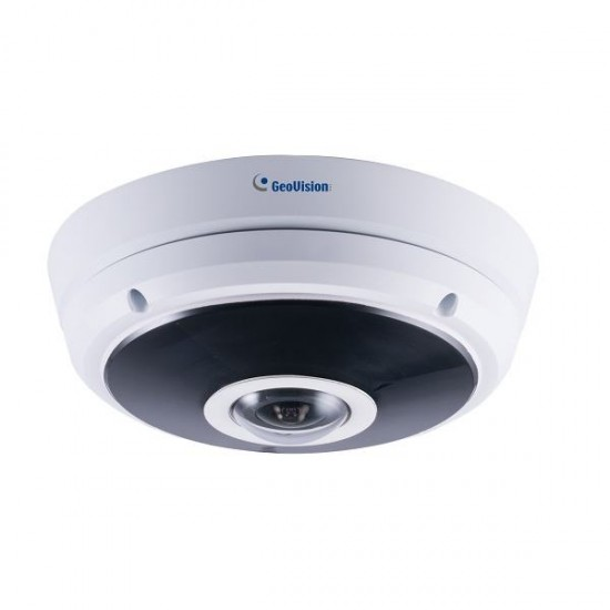 GV-EFER3700 Geovision 1.24mm 30FPS @ 2048 x1536 Outdoor IR Day/Night WDR Fisheye IP Security Camera 12VDC