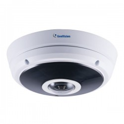 GV-EFER3700-W Geovision 1.24mm 30FPS @ 2048 x1536 Outdoor IR Day/Night WDR Fisheye IP Security Camera Built-in WiFi 12VDC