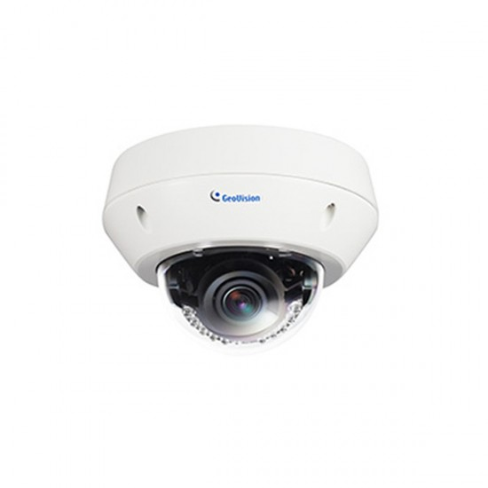 GV-EVD2100 Geovision 3~9mm Varifocal 30 FPS @ 1920 x 1080 Outdoor IR Day/Night WDR Dome IP Security Camera 12VDC/PoE