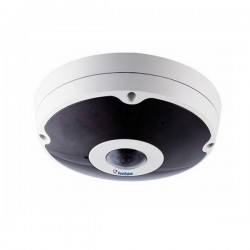 GV-FER12203 Geovision 15FPS @ 12MP Outdoor IR Day/Night IP Rugged Fisheye Security Camera 12VDC/24VAC/PoE