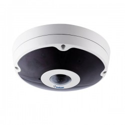 GV-FER5701 Geovision 1.05mm 30FPS @ 2560x1920 Outdoor IR Day/Night WDR Fisheye Panoramic IP Security Camera 12VDC/PoE+