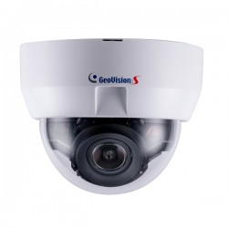 GV-MD8710-FD Geovision 4~8mm Motorized 30FPS @ 3840 x 2160 Indoor Day/Night IR WDR Dome IP Security Camera 12VDC/PoE