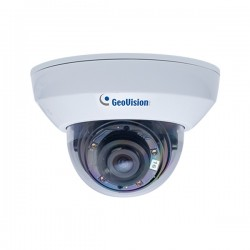 GV-MFD4700-0F Geovision 2.8mm 30FPS @ 1920 x 1080 Indoor Day/Night Dome IP Security Camera 12VDC/PoE