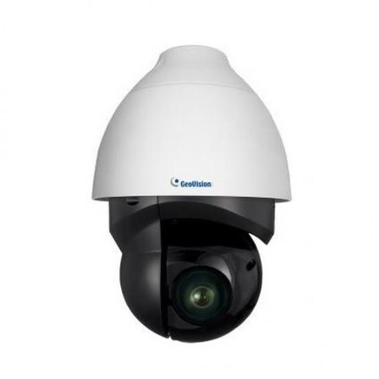 GV-QSD5731-IR Geovision 4.6~152mm 33x Optical Zoom 30FPS @ 5MP Outdoor IR Day/Night WDR PTZ IP Security Camera 24VAC/PoE