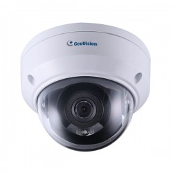 GV-TDR2700-0F Geovision 2.8mm 30FPS @ 1080p Outdoor IR Day/Night WDR Dome IP Security Camera 12VDC/POE