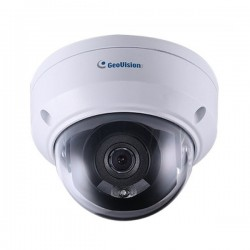 GV-TDR4702-0F Geovision 2.8mm 20FPS @ 4MP Outdoor IR Day/Night WDR Dome IP Security Camera 12VDC/PoE