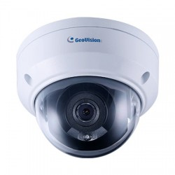 GV-TDR4703-2F Geovision 2.8mm 30FPS @ 4MP Outdoor IR Day/Night WDR Dome IP Security Camera 12VDC/PoE