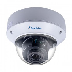 GV-TVD4710 Geovision 2.8-12mm Motorized 20FPS @ 4MP Outdoor IR Day/Night WDR Vandal Proof Dome IP Security Camera 12VDC/PoE