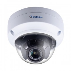 GV-TVD4711 Geovision 2.8-12mm Motorized 30FPS @ 4MP Outdoor IR Day/Night WDR Vandal Proof Dome IP Security Camera 12VDC/PoE