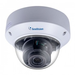 GV-TVD8710 Geovision 2.8-12mm Motorized 20FPS @ 8MP Outdoor IR Day/Night WDR Vandal Proof Dome IP Security Camera 12VDC/PoE