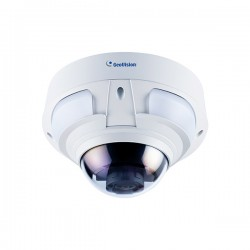 GV-VD4711 Geovision 2.8~12mm Motorized 20FPS @ 2592 x1520 Outdoor IR Day/Night WDR Dome IP Security Camera 12VDC/24VAC/PoE+
