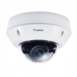 GV-VD8700 Geovision 3.3~12mm Varifocal 30FPS @ 8MP Outdoor IR WDR Vandal Proof IP Dome Security Camera 12VDC/POE