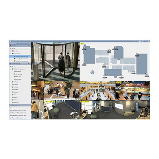 GV-VMSPRO018 Geovision GV-VMS Pro for 64 Channel Platform w/ 3rd Party IP Cameras 18 Channels
