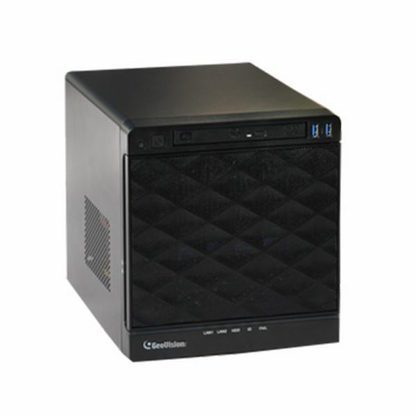 UVS-VMS-NC3C4-C16 Geovision UVS-CUBE VMS HotSwap System 16 Channel VMS i3 Intel Processor 8GB RAM 128 GB SSD 16 Camera Maximum with GV-VMS Software - No HDD