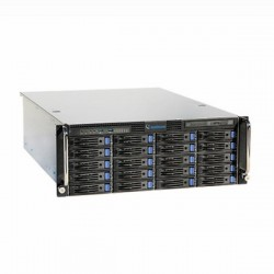 UVS-VMS-i7U04-32A Geovision UVS-Ultra VMS HotSwap System 4-Bay 32 Channel 4U VMS Intel i7 Skylake 16GB RAM 128 GB SSD 64 Camera Maximum with GV-VMS Software - No HDD
