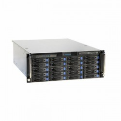 UVS-VMS-i7U20-64A Geovision UVS-Ultra VMS HotSwap System 20-Bay 64 Channel 4U VMS Intel i7 Skylake 16GB RAM 128 GB SSD 64 Camera Maximum with GV-VMS Software - No HDD