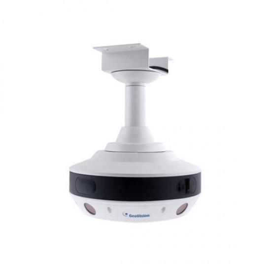 GV-SV48000 Geovision 4 X 3.93mm 15FPS @ 4000 x 3000 Outdoor IR Day/Night WDR Panoramic IP Security Camera 24VDC/24VAC/POE